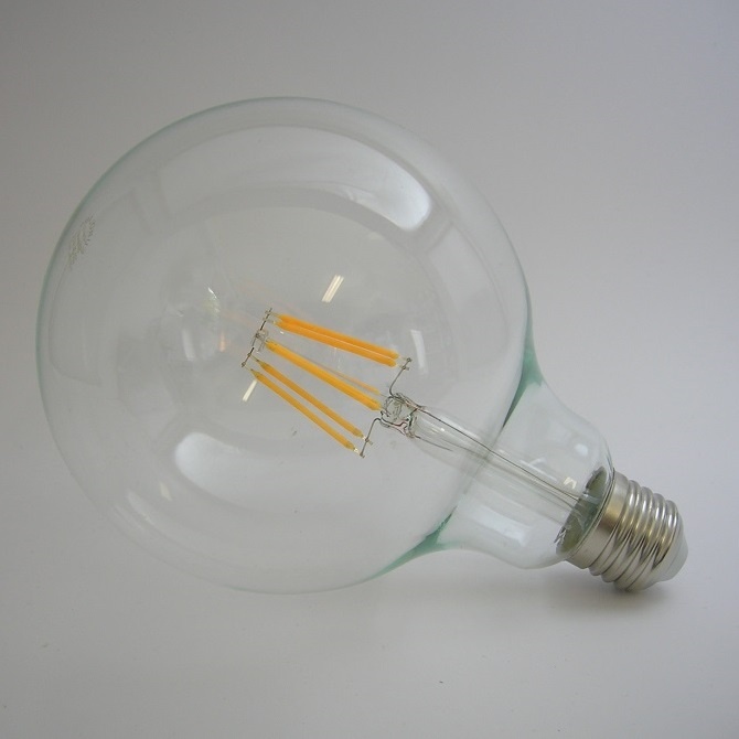 LED Filament Globe G125 8W Gradable