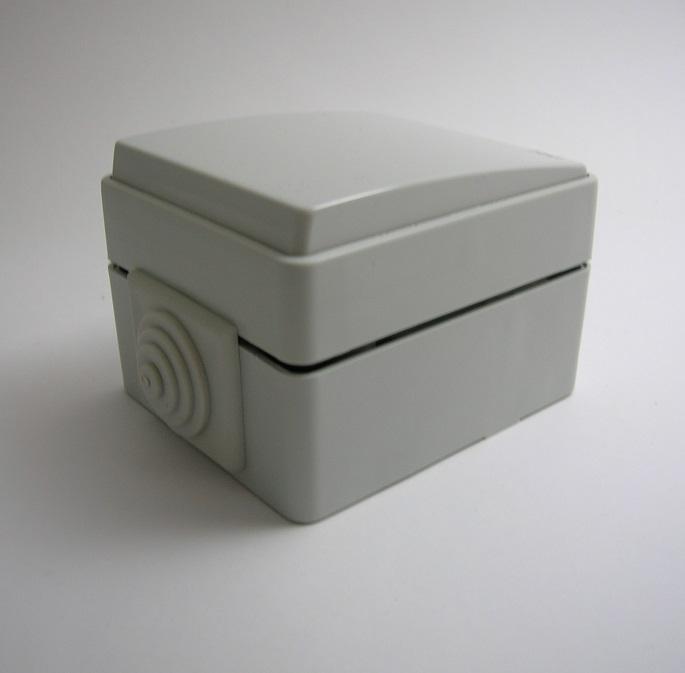 Interrupteur Unipolaire IP65 Gris ou Blanc