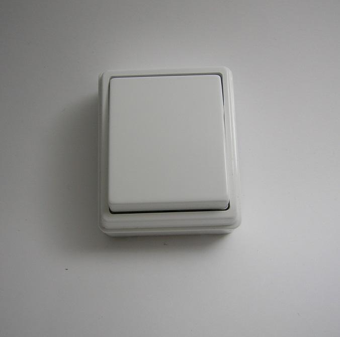 Interrupteur Unipolaire Blanc