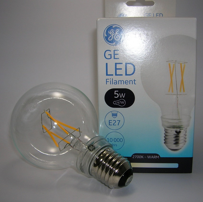 LED Filament EnergySmart Globe G80 5W Claire