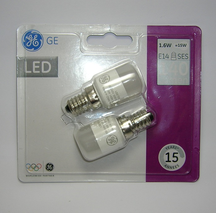 Lot de 2 ampoules LED Pygmy Energy Smart 1,6 W Culot E14