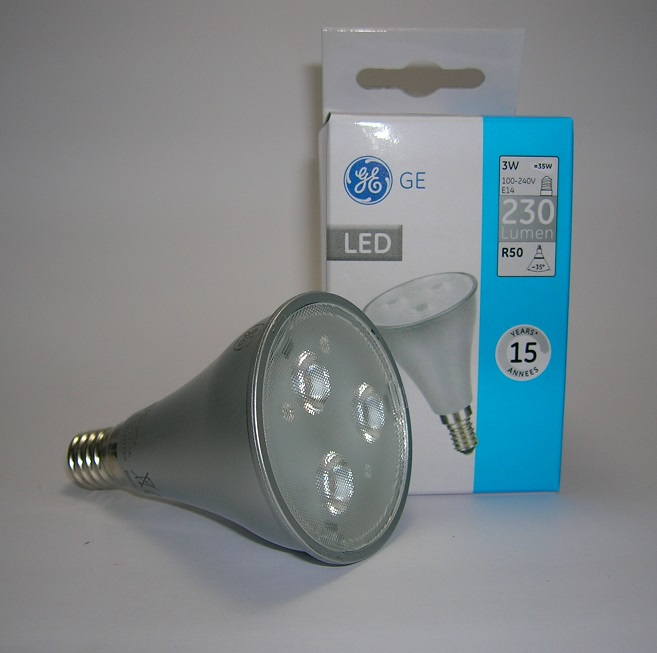 LED R50 Energy Smart Non Gradable 3W Culot E14 Angle 35°