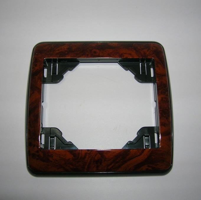 Plaque Simple Sirius70 - Anthracite/Cerisier