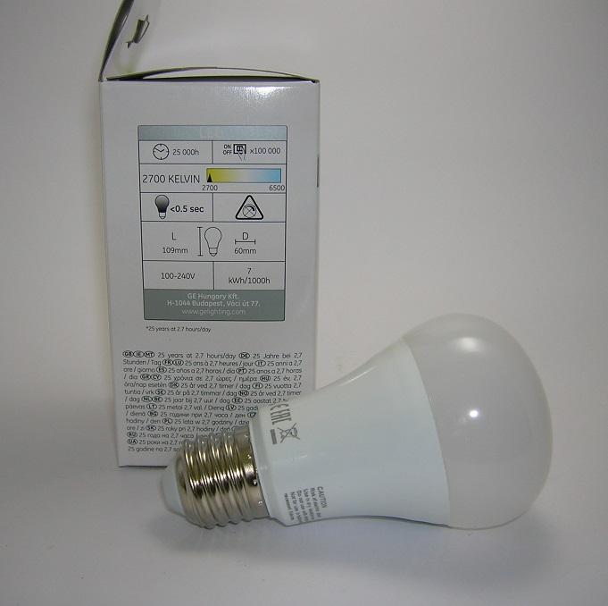 Ampoule LED A60 7W Ge-2