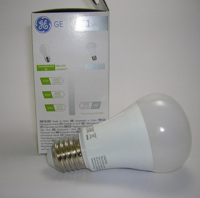 Ampoule LED A60 7W Ge-3