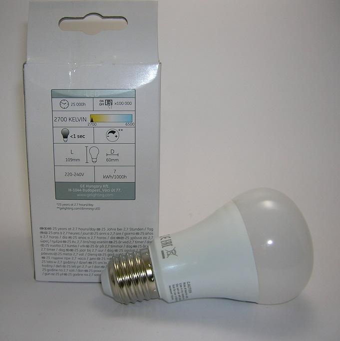 Ampoule LED A60 Gradable 7W Ge-1