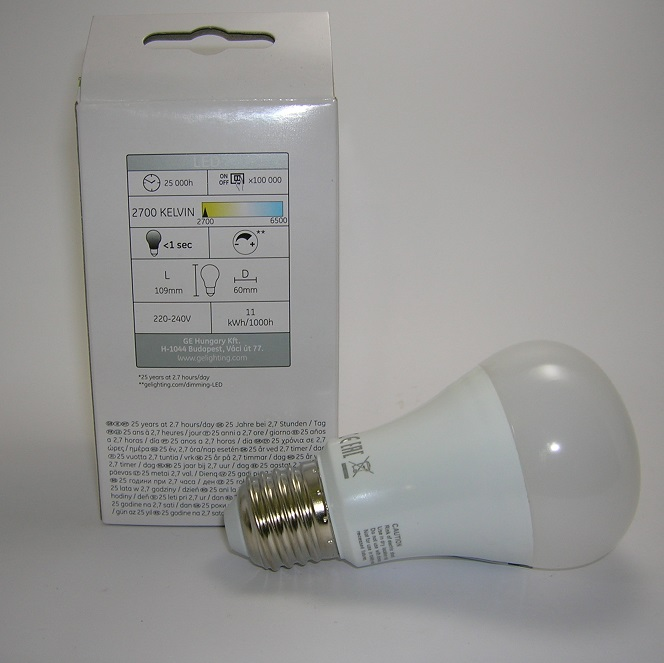 Ampoule LED A60 Gradable 11W Ge-1