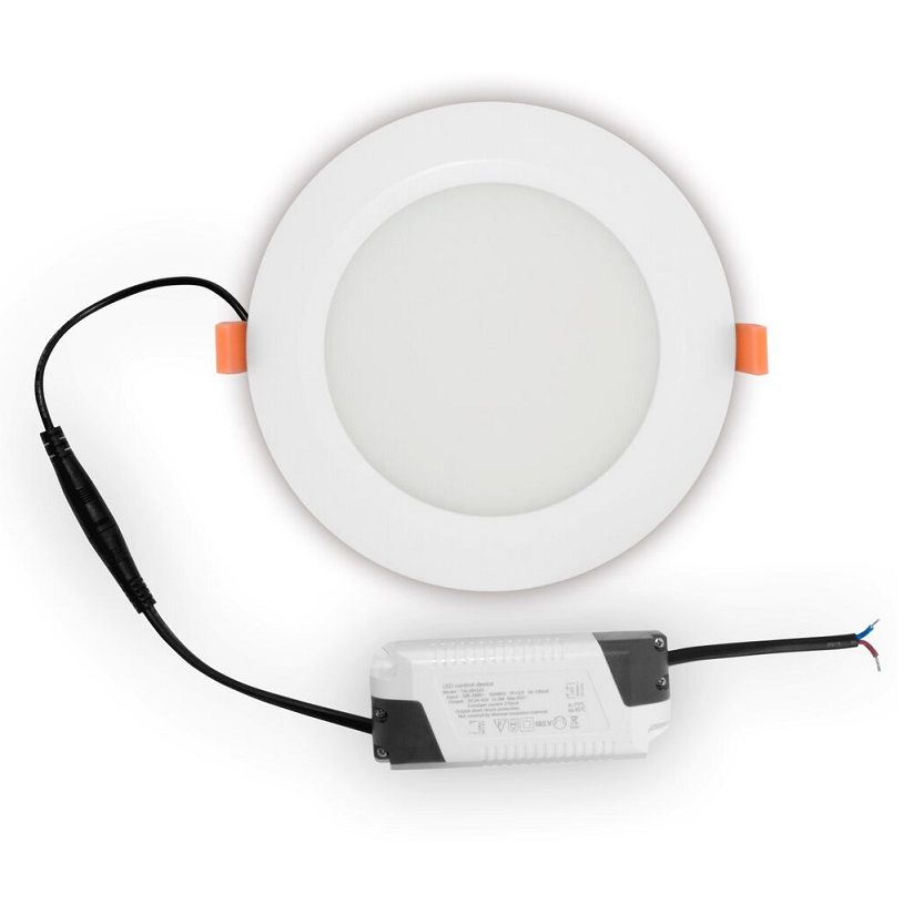 Spot LED SLIM Downlight 1000 lumen 6500 kelvin