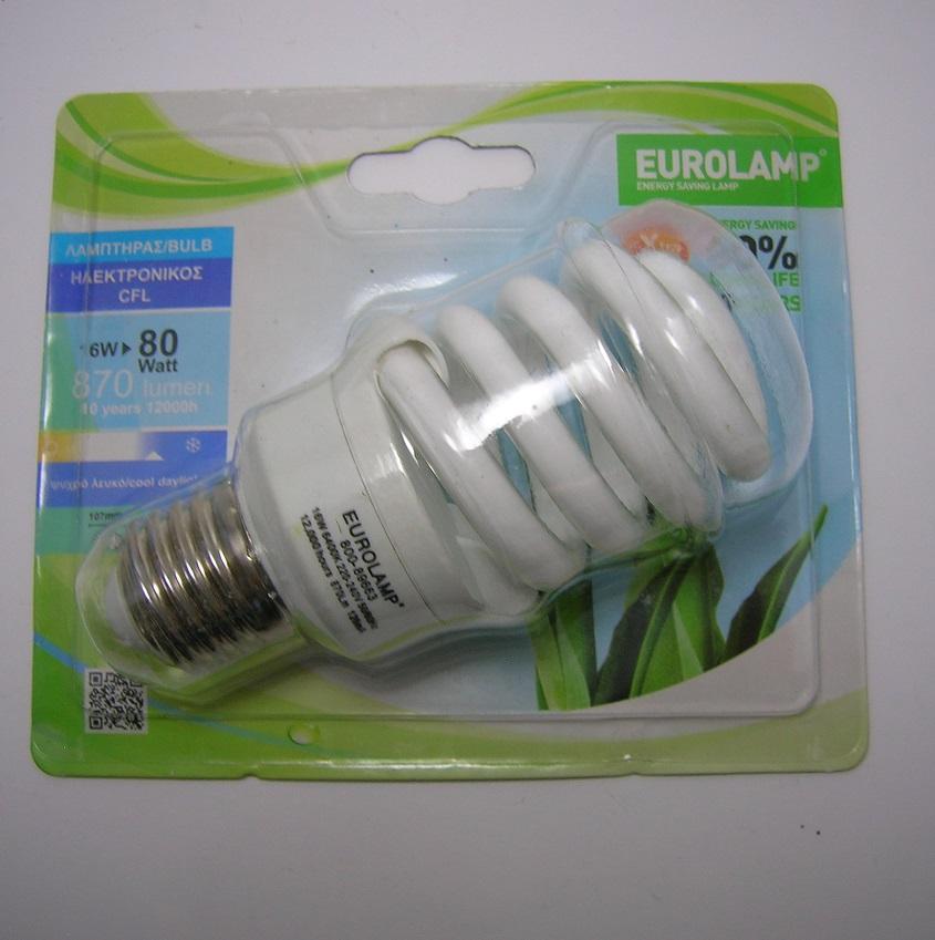 Ampoule Fluocompacte Spirale 16W - E27