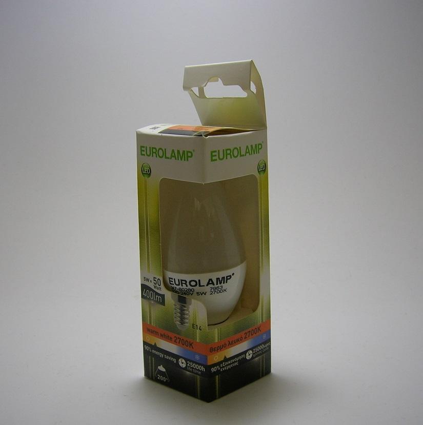 Ampoule LED C37 E14 5W