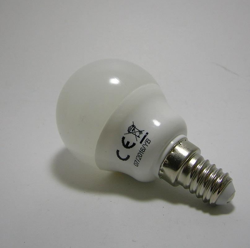 LED SMD G45 E14 - 5W - 4000 kelvin