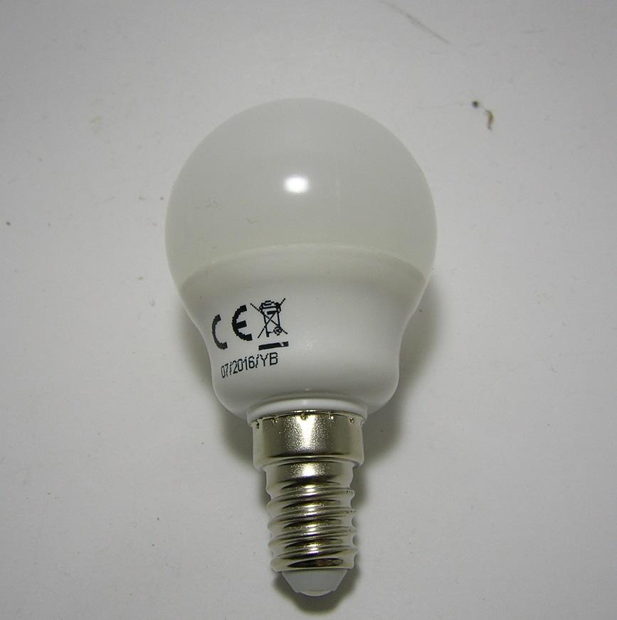 LED G45 E14 - 7W - 2700 kelvin