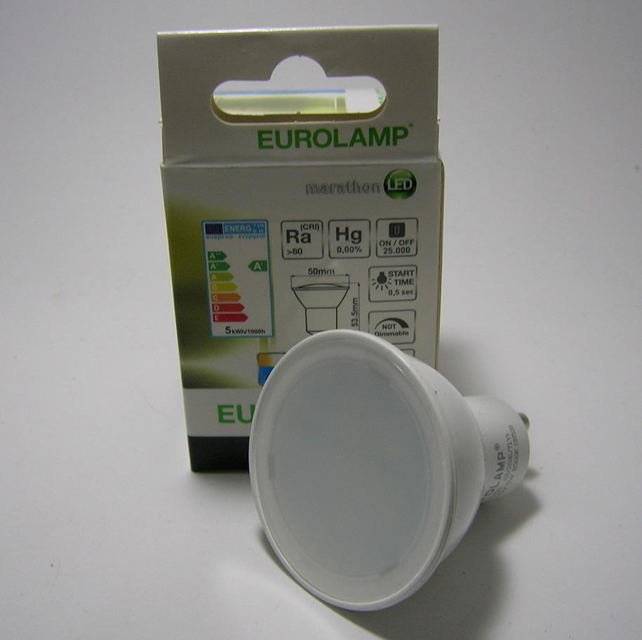 Ampoule LED GU10 Angle 110° 6W