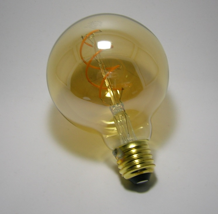 LED Filament décor Globe G95 Gold-2