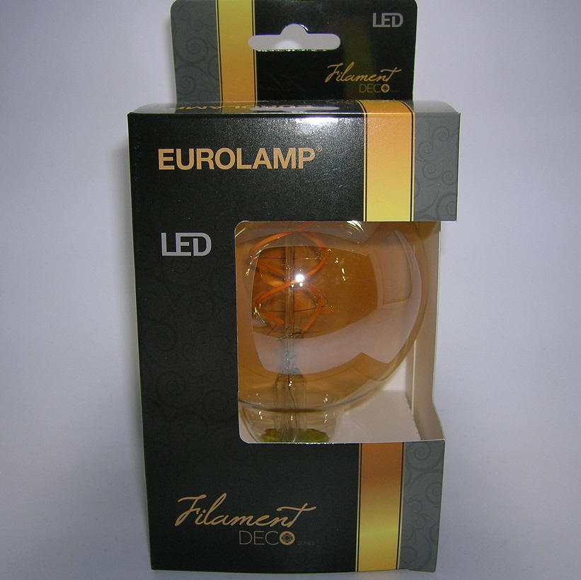 LED Filament décor Globe G95 Gold-5