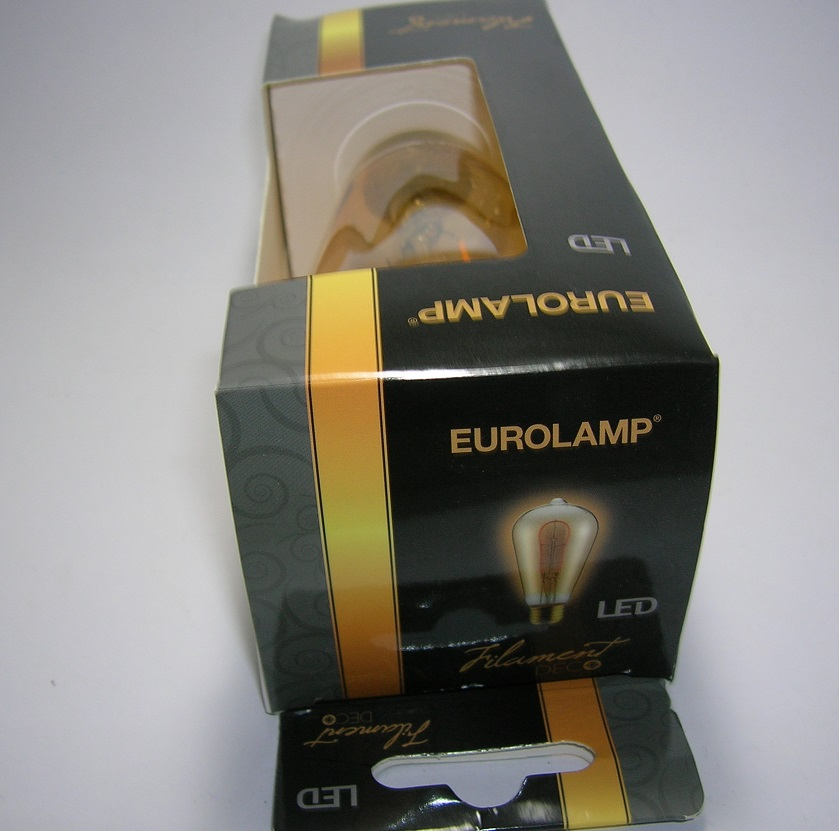 LED Filament décor ST64 3W Gold-1