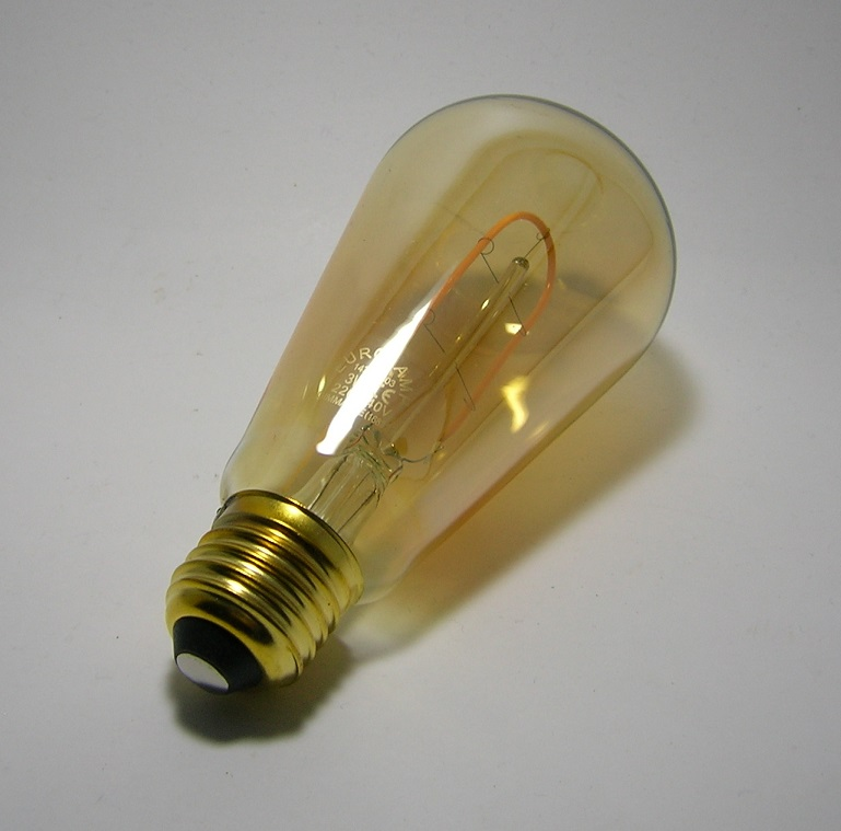 LED Filament décor ST64 3W Gold-5