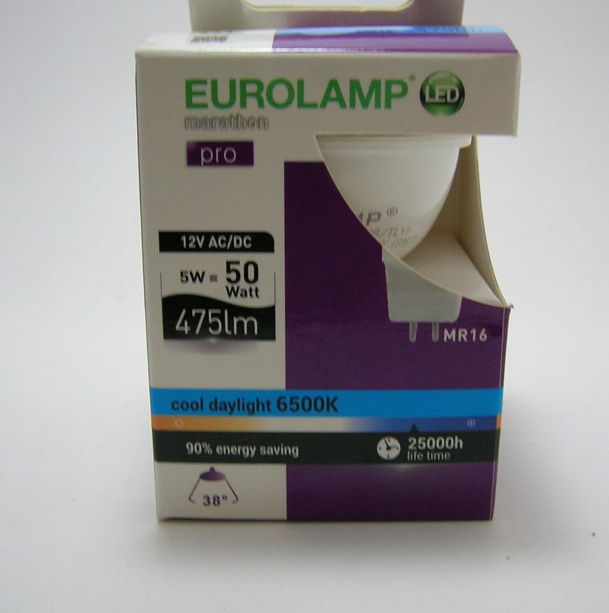 LED MR16 PRO 5W - 38° - 6500 kelvin