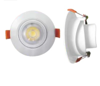 Downlight LED spot recessed 5W