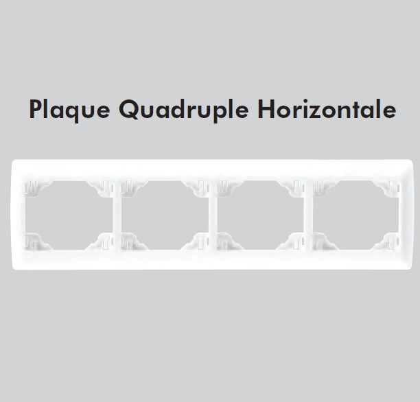 plaque quadruple sirius70 Horizontale