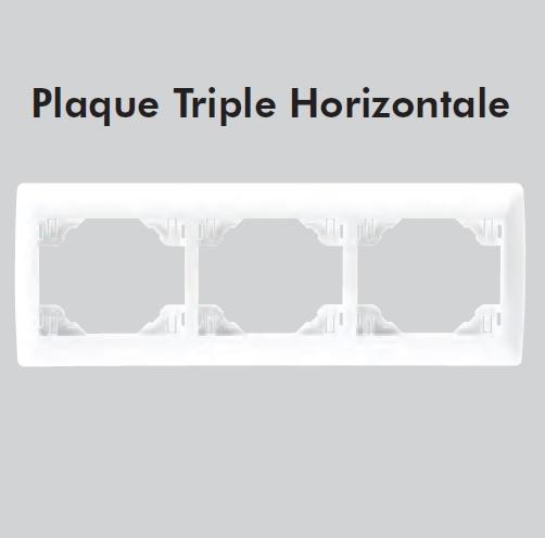 plaque triple sirius70 Horizontale