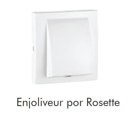 Enjoliveur pour Rosette / Sortie de câble - LOGUS90
