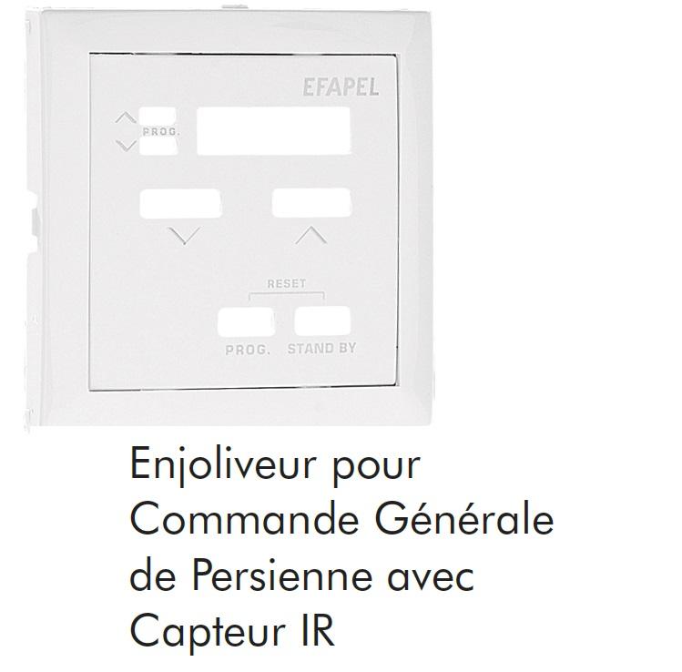 Enjoliveur pour Commande GENERALE de Persienne LOGUS90