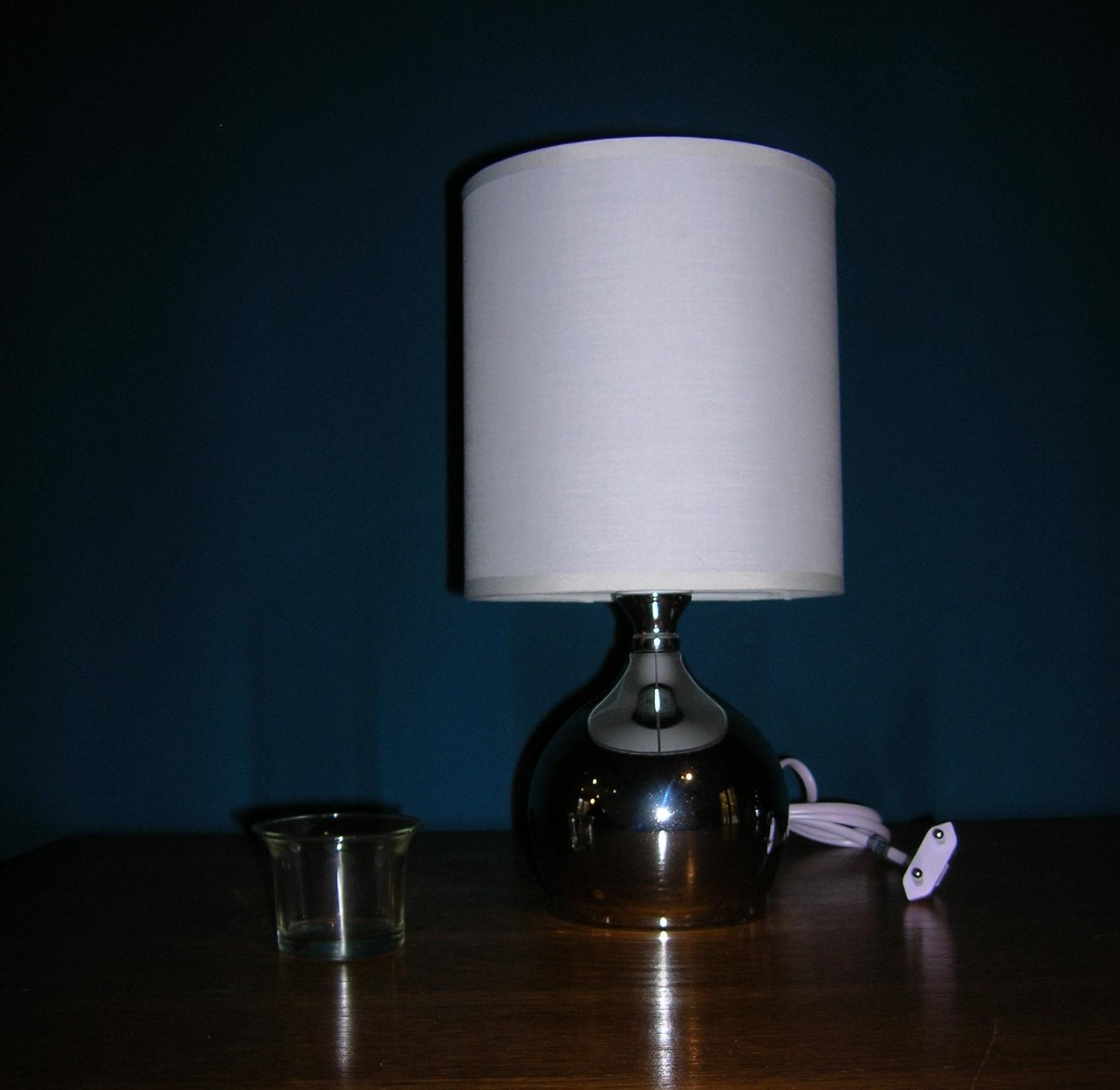 Lampe de chevet Tactile Blanche