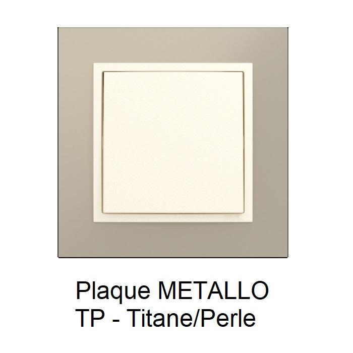 Plaque METALLO Titane Perle 90910TTP