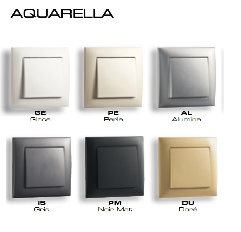 Interrupteur Aquarella logus90