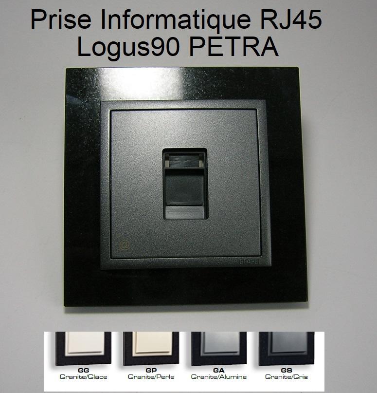 Prise Informatique RJ45 - Logus90 PETRA