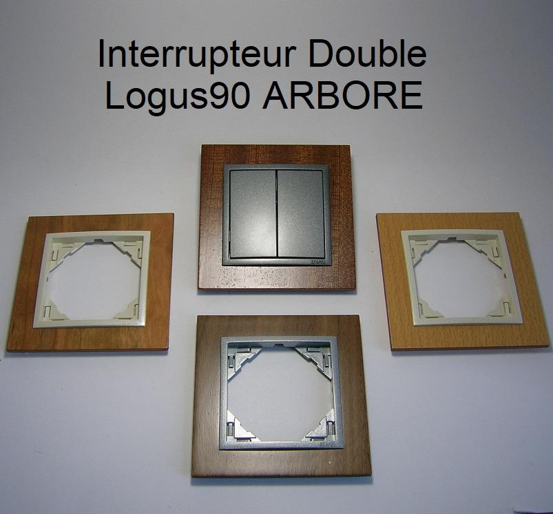 Interrupteur Double - Logus90 ARBORE