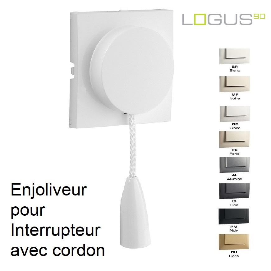 Enjoliveur pour Va-et-Vient / Poussoir avec cordon - LOGUS90