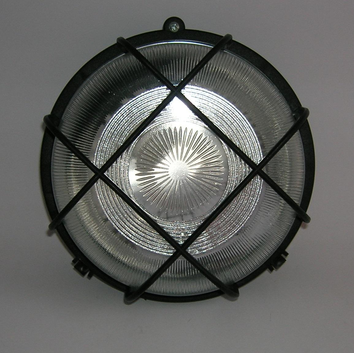Applique Circulaire PVC Série 55 - NOIR
