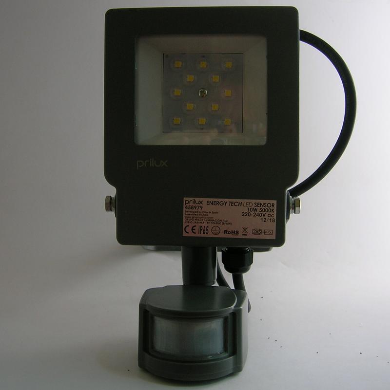 Projecteur LED Energy TECH Sensor 10W à détection automatique