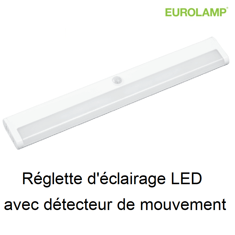 Eclairage LED Autonome avec Détecteur de mouvement