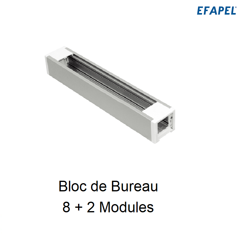 Bloc de Bureau 8+2 Modules