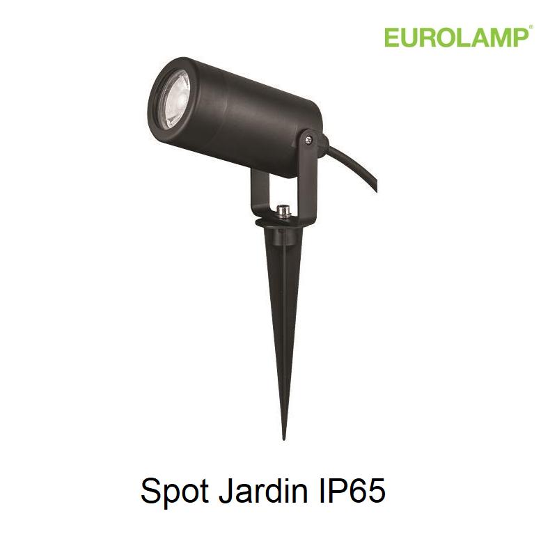 Spot extérieur Plastique GU10 - IP65 -Noir