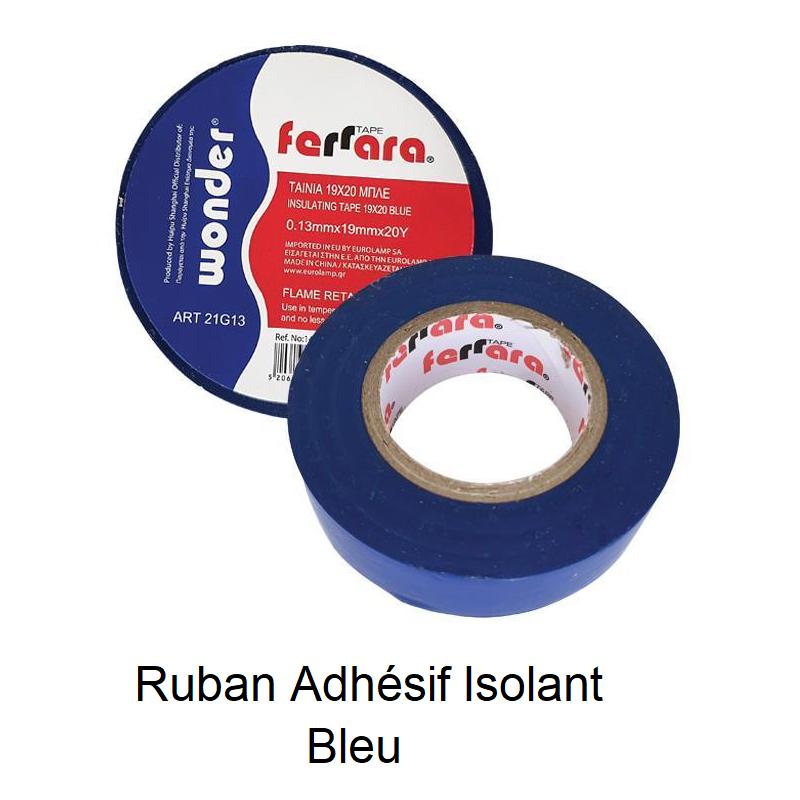 Ruban Adhésif Isolant - Tape Bleu