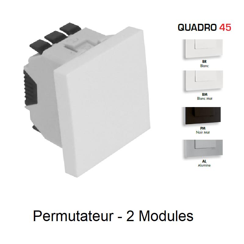 Permutateur Semi-Assemblé 2 Modules - QUADRO 45