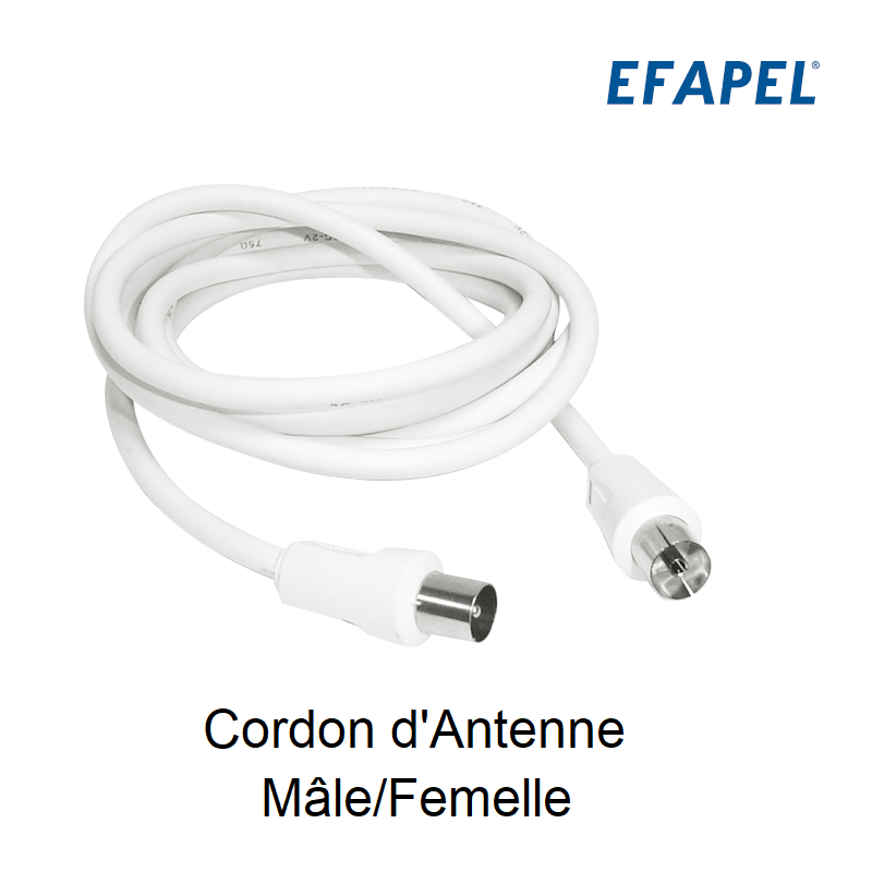 Cordon d\'Antenne Mâle/Femelle