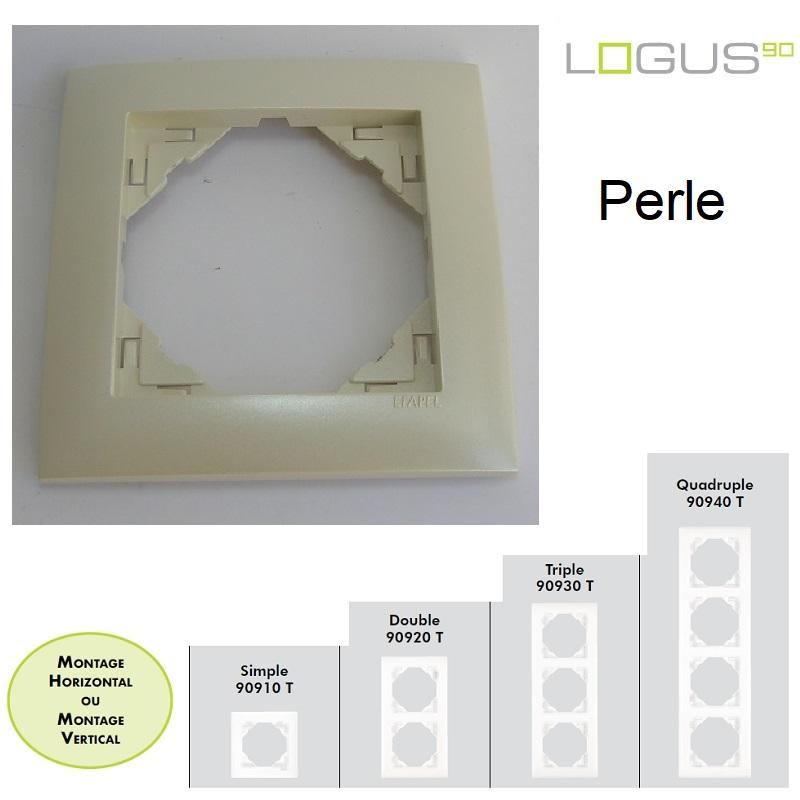 Plaque Aquarella Perle LOGUS90