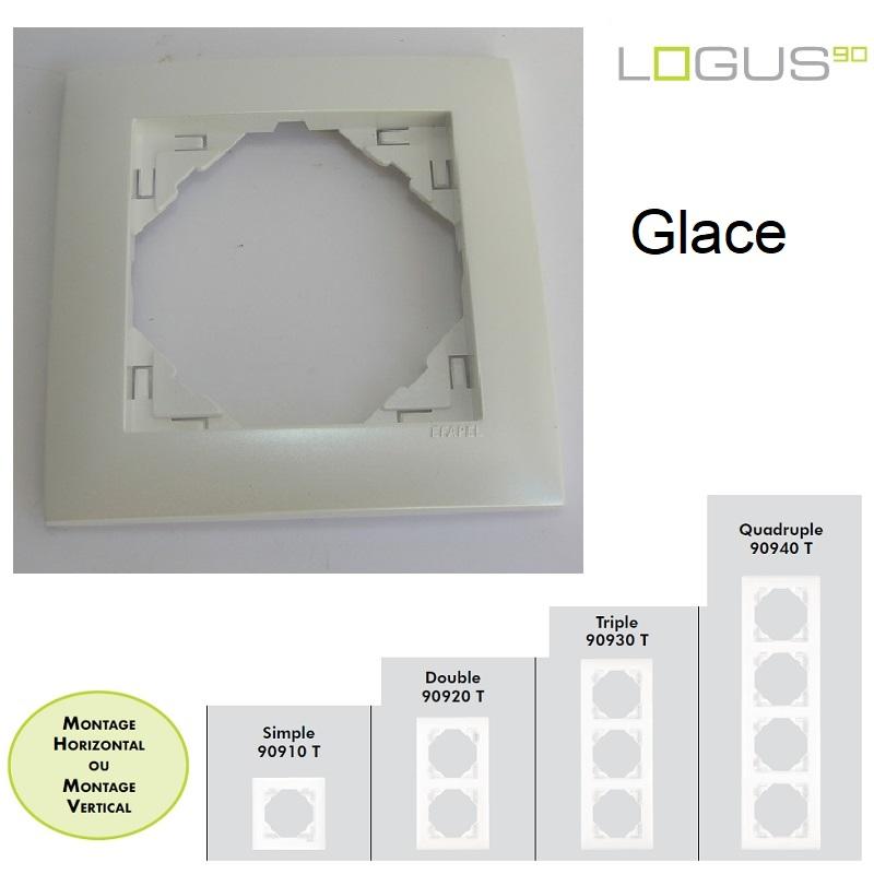 Plaque Aquarella Glace LOGUS90