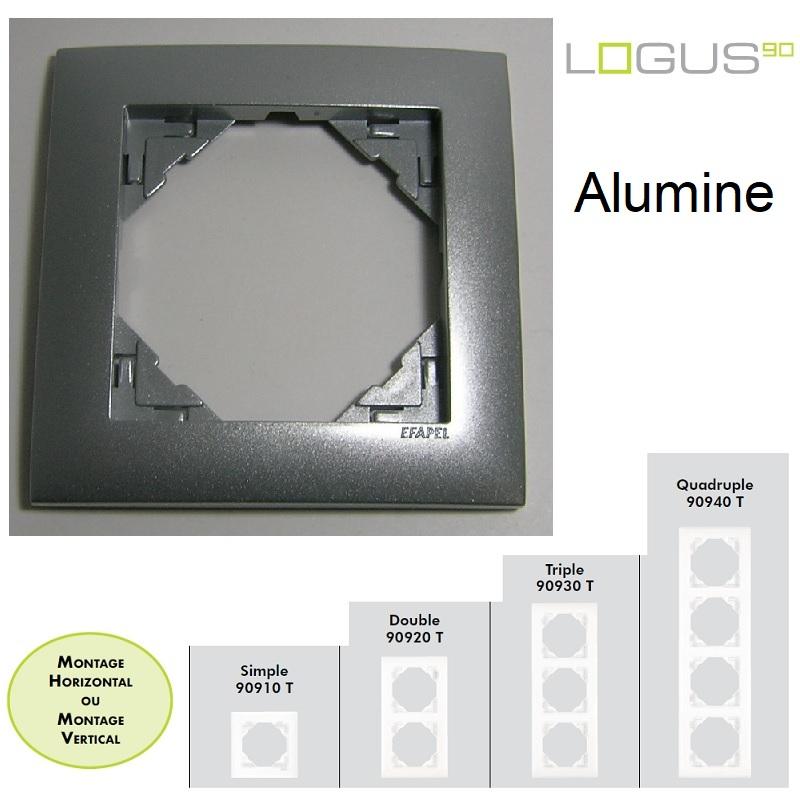 Plaque Aquarella Alumine LOGUS90