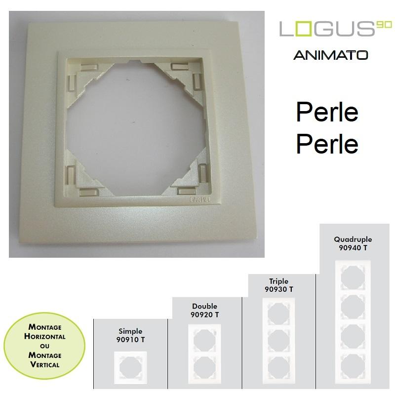 Plaque Animato Perle/Perle LOGUS90