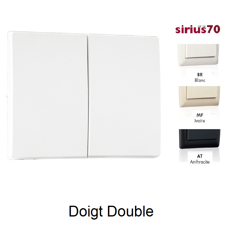 Doigt Double Sirius70