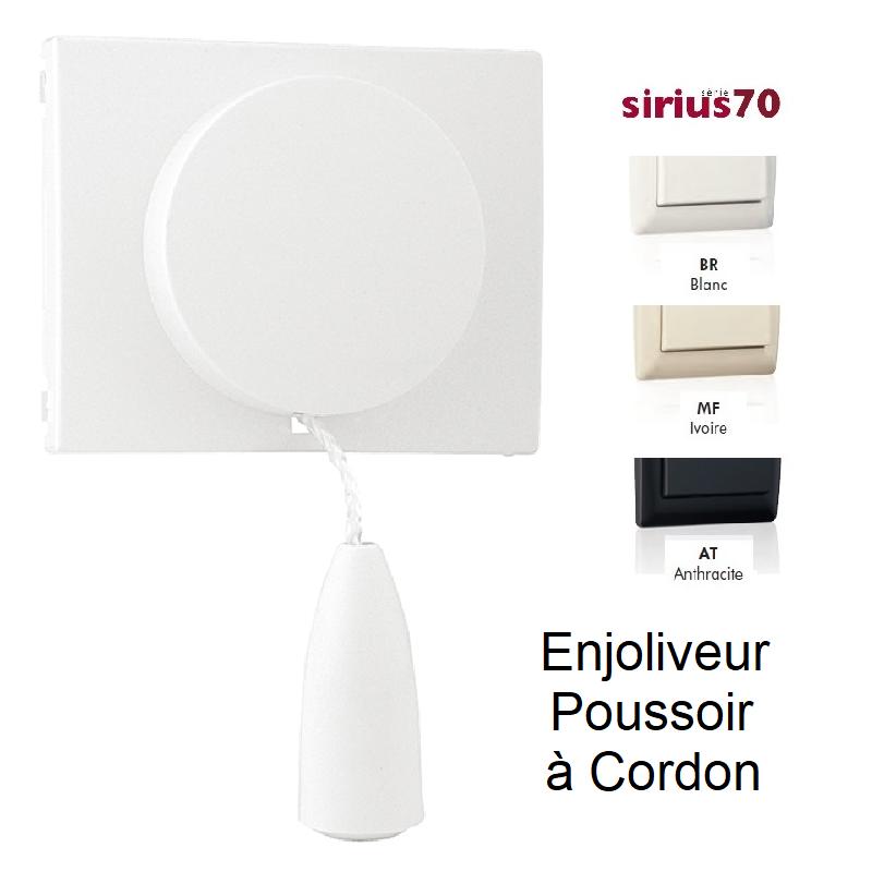 Enjoliveur pour Va-et-Vient / Poussoir avec Cordon - SIRIUS70