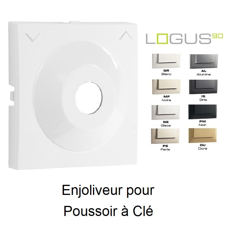 Enjoliveur pour Poussoir à Clé - LOGUS 90