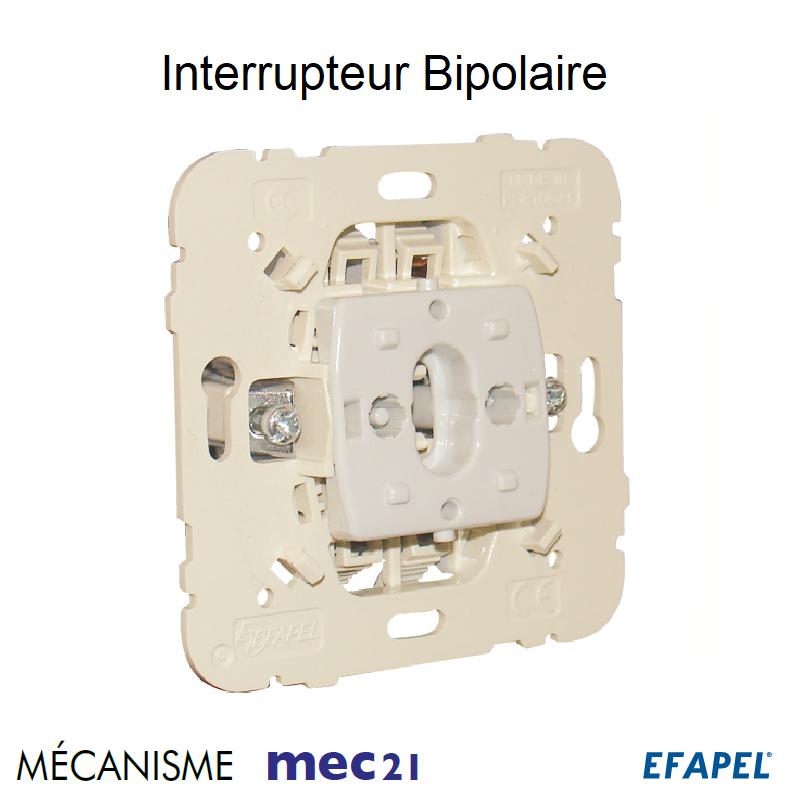 Mécanisme Interrupteur Bipolaire
