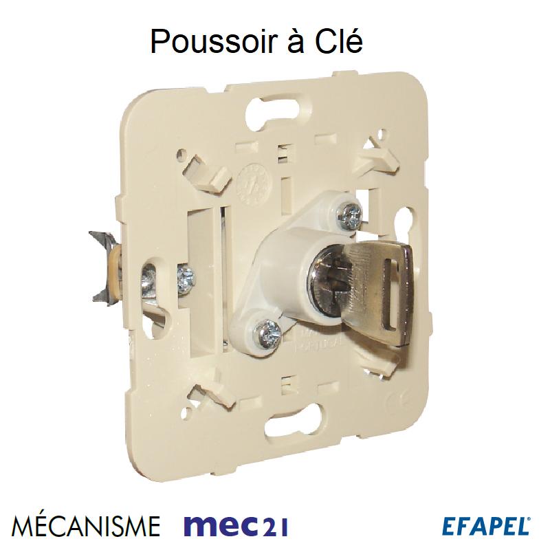 Mécanisme de Poussoir à Clé